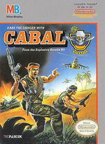 Cabal NES cover