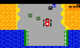 Bump n Jump Intellivision screenshot