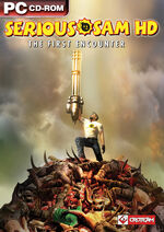 Serious Sam HD The First Encounter PC cover