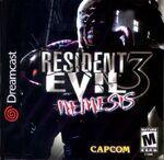 Resident Evil 3 Nemesis Dreamcast Cover
