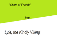 Share of Friends title card