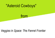 Asteroid Cowboys title card