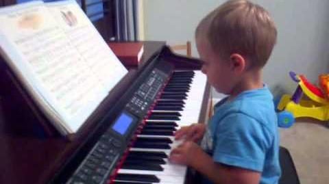 2 Year old Piano Prodigy