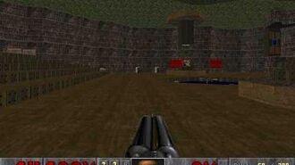 Explosión de barril inofensiva en Final Doom (Plutonia)