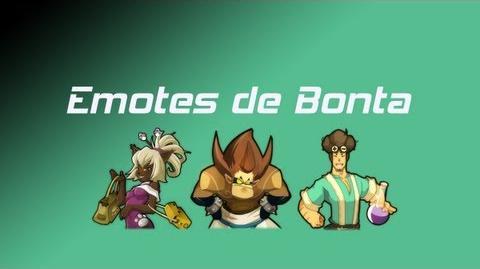 Toutes les Emotes de Bonta Wakfu MMORPG