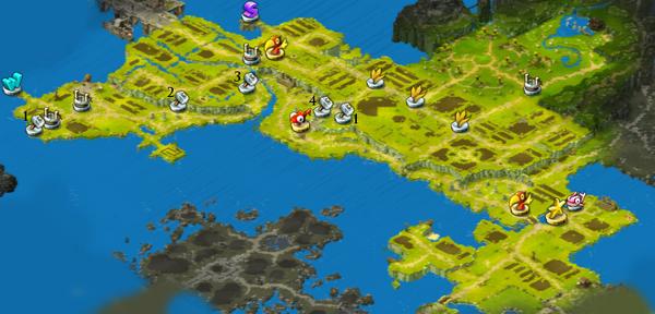 Map Singing Fields