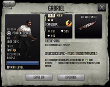 Gabriel - Tier 1, Level 20