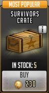 Survivors crate