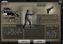 Clementine - Level 1, Min Stats