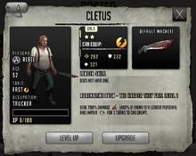 Cletus - Tier 1, Level 1