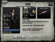 Tobin - Max Stats