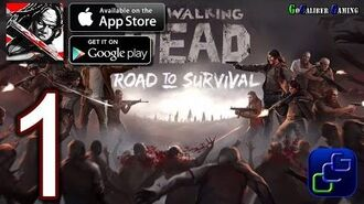 Walking Dead Road To Survival Android iOS Walkthrough - Gameplay Part 1 - Homemart 1-2