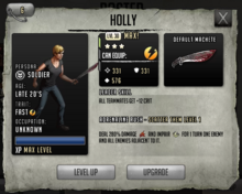 Holly - Tier 1, Level 30 (Max)