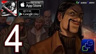 Walking Dead Road To Survival Android iOS Walkthrough - Part 4 - Woodbury Gates 3-5 Side with Gavin