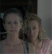 Carol and Patricia