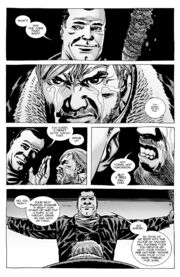 Issue 100 negan and rick