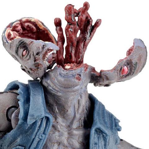 File:The Walking Dead Comic Series 1 5-inch Action Figure - Zombie Roamer split head.jpg