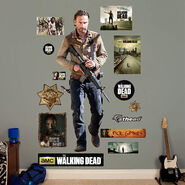 Rick Grimes Fathead Wall Decal 2