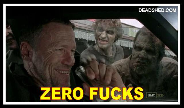 File:The Walking Dead Season 3 Meme Merle Zero Fucks 3x15 DeadShed.jpg