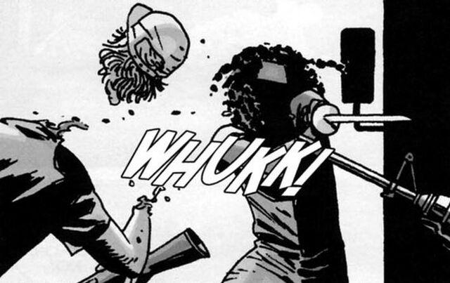 File:Michonne Issue 39 1.JPG
