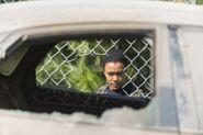 Sasha Williams 7x14 Promotional Image Near Car