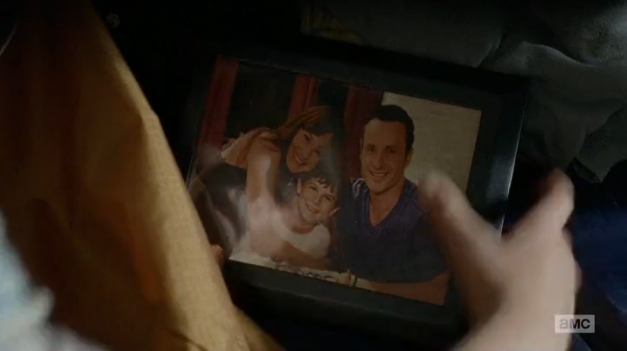 File:Lori, Carl, Rick Photo (Isolation Season 4).png