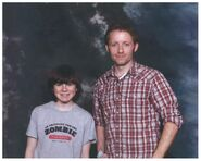 Chandler Riggs and Christopher Weite