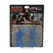 Abraham PVC Figure 2-Pack (Translucent Blue)