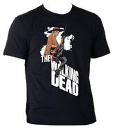 "THE WALKING DEAD ""ANDREA"" T-SHIRT MENS"