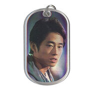 The Walking Dead - Dog Tag (Season 2) - GLENN RHEE 7 (Foil Version)