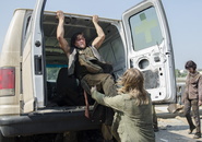 AMC 506 Daryl Kicks Walker