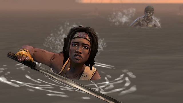 File:ITD Michonne Swimming Away.png