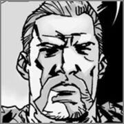 The Walking Dead comic Abraham