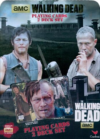 File:Walking Dead Playing Cards 2 Deck Set Tin Cover.jpg