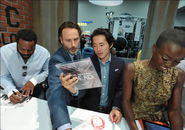 Lincoln-Yeun-Gurira SDCC 13