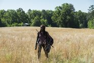 Michonne Walking 7x04 Service