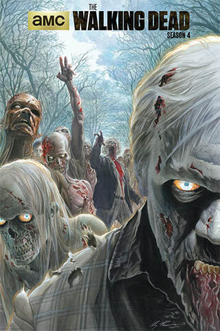File:Alex Ross's The Walking Dead Season 4 Comic-Con Poster.jpg