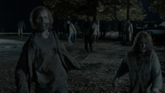 Two walkers after Carol