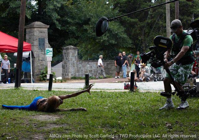 File:The Walking Dead Being Filmed, 5.jpg