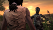 TWDM Michonne Confronts Walker