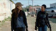Rosita Espinosa Arguing with Sasha Williams 7x14