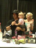 Norman with Charlotte