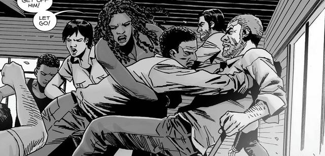 File:Rick, Vincent, Michonne, Dante, Maggie & Connie 148.png