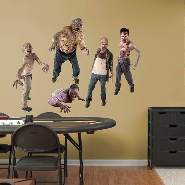 Image Walkers Collection Fathead Wall Decalsjpg Walking Dead - Wall stickers decalswall decal wikipedia