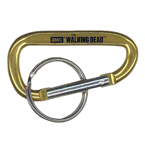 File:The Walking Dead - Carabiner Clip (Season 2) - GOLD (2.5 inch).jpg