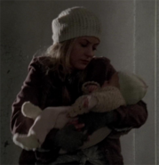 Beth holding judith welcome to the tombs
