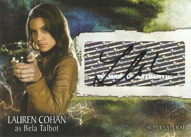File:Lauren Cohan Supernatural auto card.jpg