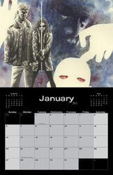 Image Comics January 2013 Calendar