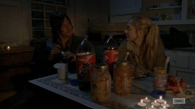 File:Beth and Daryl night snack home.JPG