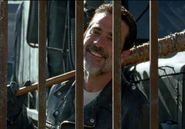 Negan at the gates S7E4